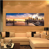 1 Pcs Brooklyn Bridge Modern Home decoration Wall  painting Canvas picture Art HD Print Painting for bedroom gift