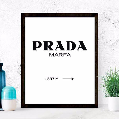 Marfa Gossip Girl  Posters decorative wall painting Canvas Art Print Wall Pictures Home Decoration Frame not include v104