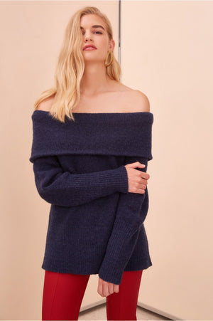 Regular Touch Knit Jumper Navy