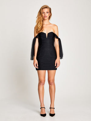 Good Vibes Dress Black