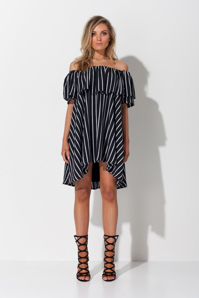 IN BETWEEN THE LINES DRESS - Sallyrose