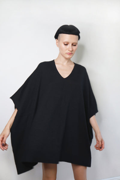 Knitted Cashmere Kaftan