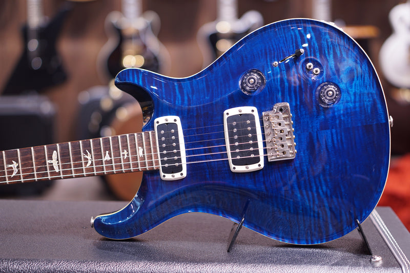 PRS 408, NON-10, TREMOLO PAT/THIN, NICKEL WHALE BLUE sn 198318