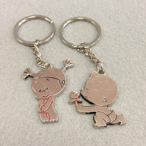 Adorable Couple Couples Keychain