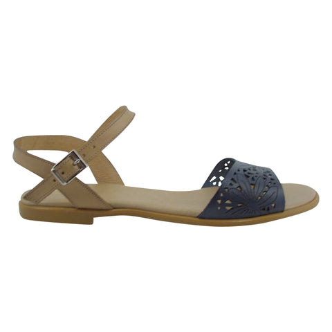 Laser Cut Flat Sandals MADE IN SPAIN