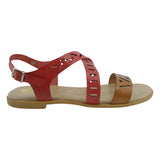 Cross Over Flat Sandals MADE IN SPAIN