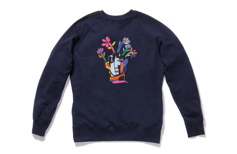Limited Edition Embroidered Sweatshirt