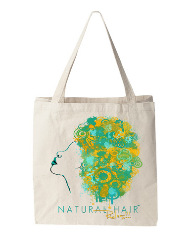 Natural Hair Rules Tote Bag