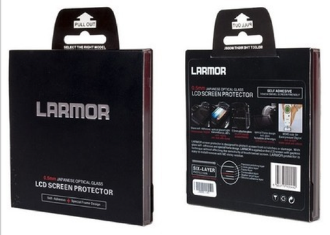 Larmor (GGS) Fujifilm X-E2's ( also fits Panasonic ZS100, ZS200, Leica C-LUX ) -  LCD Protector Ultra Thin Optical Glass