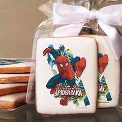 Spider-Man Ultimate Photo Cookies