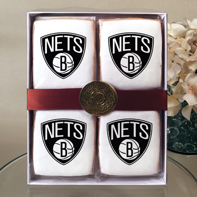 NBA Brooklyn Nets Cookie Gift Box