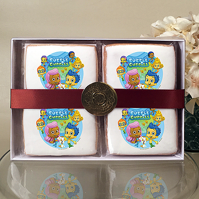 BUBBLE GUPPIES GIL & MOLLY Cookie Gift Box