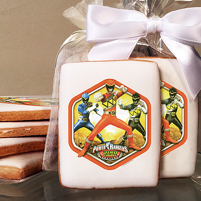 Power Rangers Dino Charge Prehistoric  Photo Cookies