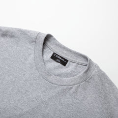 WORK TEE - HEATHER GREY