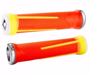 ODI AG1 V2.1 Aaron Gwin Lock On Grips w/ Clamps Bonus Pack