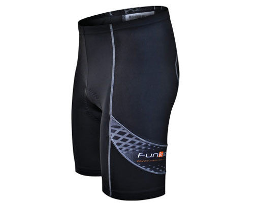 Funkier Men's Milano 8 Panel Cycling Shorts