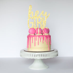 Hey Girl Cake Topper - Glambanners