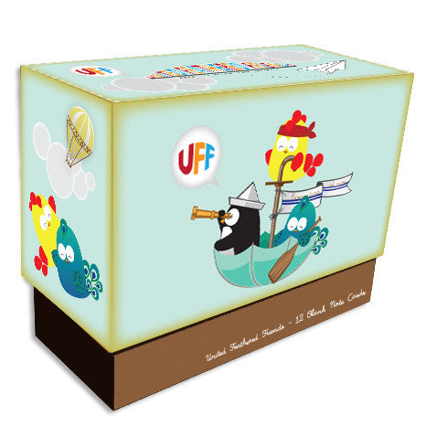 UFF Everyday Adventure boxed note cards