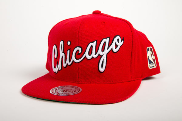 Chicago Bulls Wool Solid Snapback