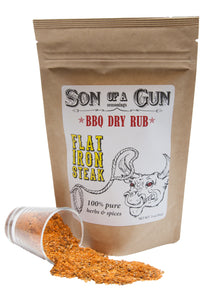 Flat Iron Steak - Son of a Gun Seasonings