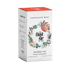 Rooibos Chocolate Mint Tea - 16 ct. Tea Box