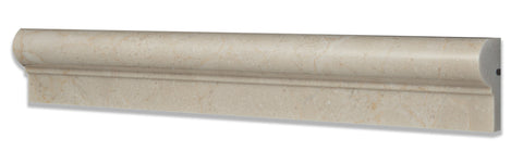 Crema Marfil Marble Polished OG-1 Chair Rail Molding Trim - American Tile Depot - Commercial and Residential (Interior & Exterior), Indoor, Outdoor, Shower, Backsplash, Bathroom, Kitchen, Deck & Patio, Decorative, Floor, Wall, Ceiling, Powder Room - 1
