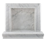 Carrara White Marble Hand-Made Custom Shampoo Niche / Shelf - SMALL - Polished - American Tile Depot - Commercial and Residential (Interior & Exterior), Indoor, Outdoor, Shower, Backsplash, Bathroom, Kitchen, Deck & Patio, Decorative, Floor, Wall, Ceiling, Powder Room - 2