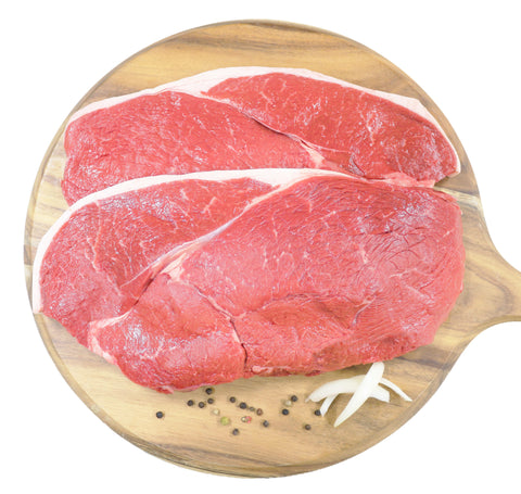 Rump Steak Grass Fed $19.99kg min. 1kg buy