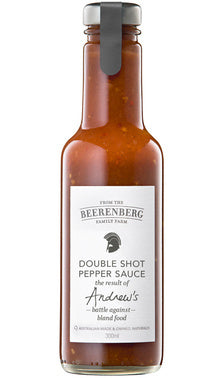 Double Shot Pepper Sauce (Beerenberg) $5.99ea