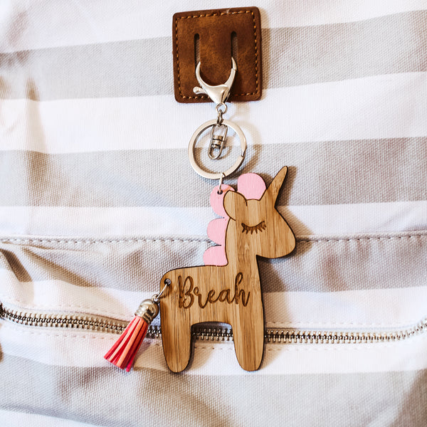 Personalised Bag Tag - Unicorn
