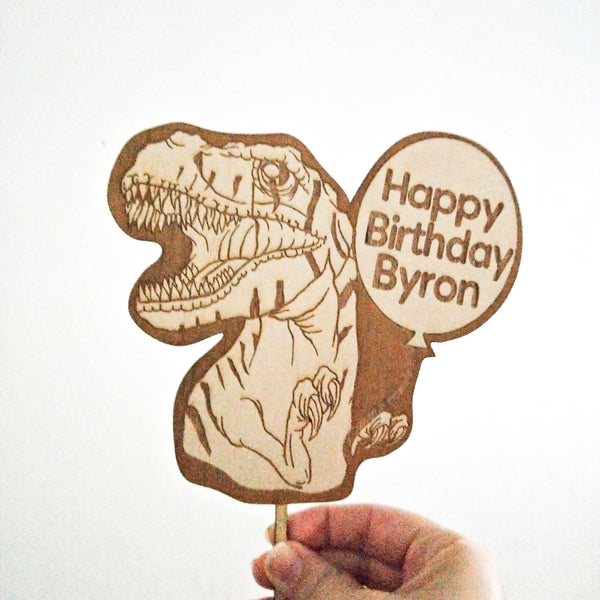 T-Rex Dinosaur Cake Topper for Sale Australia