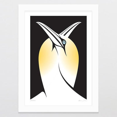 Gannets Art Print-Glenn Jones Art