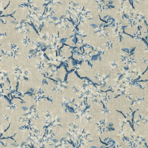 250350 Bonnabel Porcelain Decorator Fabric ED Ellen DeGeneres by Waverly, Upholstery, Drapery, Home Accent, Waverly,  Savvy Swatch