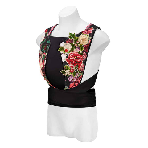 Cybex Yema Tie Baby Carrier - Spring Blossom Dark-Baby Carriers- Natural Baby Shower