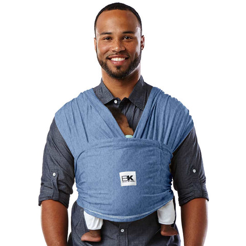 Baby K'tan Original Cotton Baby Carrier - Denim-Baby Carriers- Natural Baby Shower