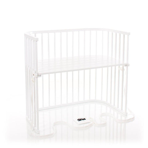 BabyBay Boxspring XXL Bedside Crib - Bright White-Cribs-Default- Natural Baby Shower