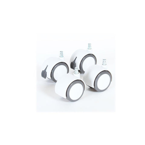 BabyBay Castors - Grey & White-Cribs-Default- Natural Baby Shower