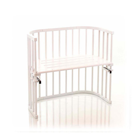 BabyBay Convertible Bedside Crib - White-Cribs-Default- Natural Baby Shower