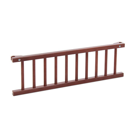 BabyBay Convertible Side Bar - Dark Wood-Side Bars-Default- Natural Baby Shower