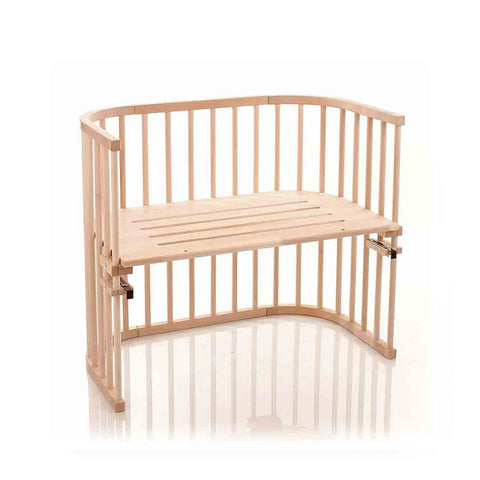 BabyBay Maxi Bedside Crib - Natural Beech-Cribs-Default- Natural Baby Shower