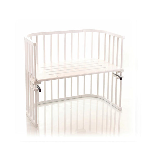 BabyBay Maxi Bedside Crib - White-Cribs-Default- Natural Baby Shower