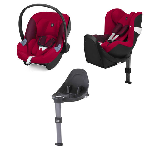 Cybex Modular Car Seat System - M Series - Scuderia Ferrari - Racing Red-Car Seats- Natural Baby Shower