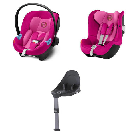 Cybex Modular Car Seat System - M Series - Fancy Pink-Car Seats- Natural Baby Shower
