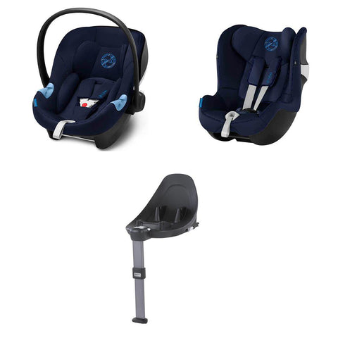 Cybex Modular Car Seat System - M Series - Indigo Blue-Car Seats- Natural Baby Shower