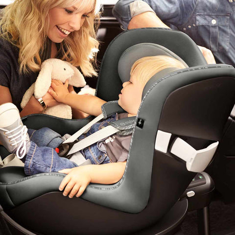 Cybex Sirona M2 i-Size Car Seat with SensorSafe - Urban Black-Car Seats- Natural Baby Shower
