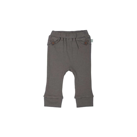 Finn + Emma Pants - Pewter-Pants- Natural Baby Shower