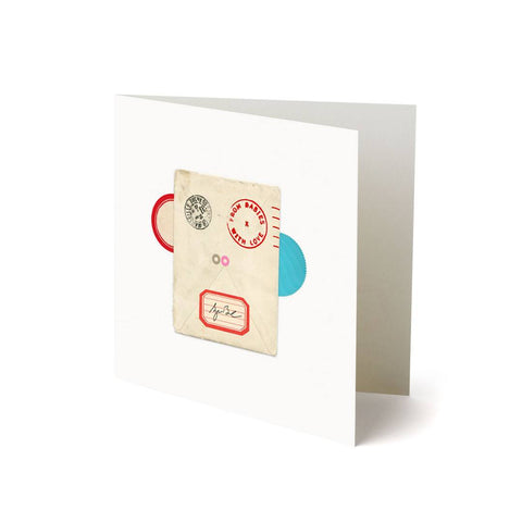 From Babies With Love Greetings Card - Monkey-Greeting Cards- Natural Baby Shower