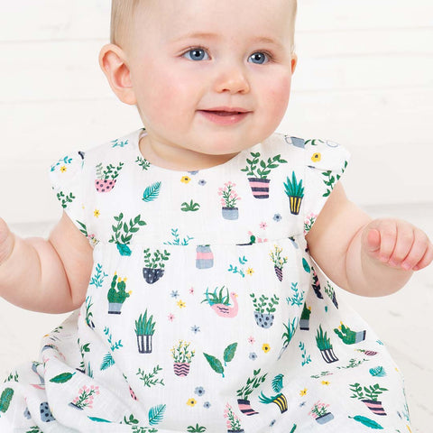 Frugi Dolly Muslin Outfit - Greenhouse-Clothing Sets- Natural Baby Shower