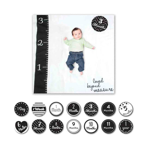 Lulujo Milestone Sets - Love Beyond Measure-Greeting Cards-Default- Natural Baby Shower