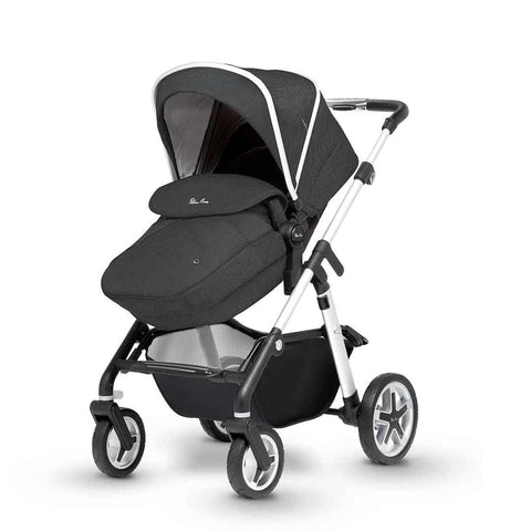Silver Cross Pioneer 11 Piece Bundle - Onyx-Travel Systems- Natural Baby Shower